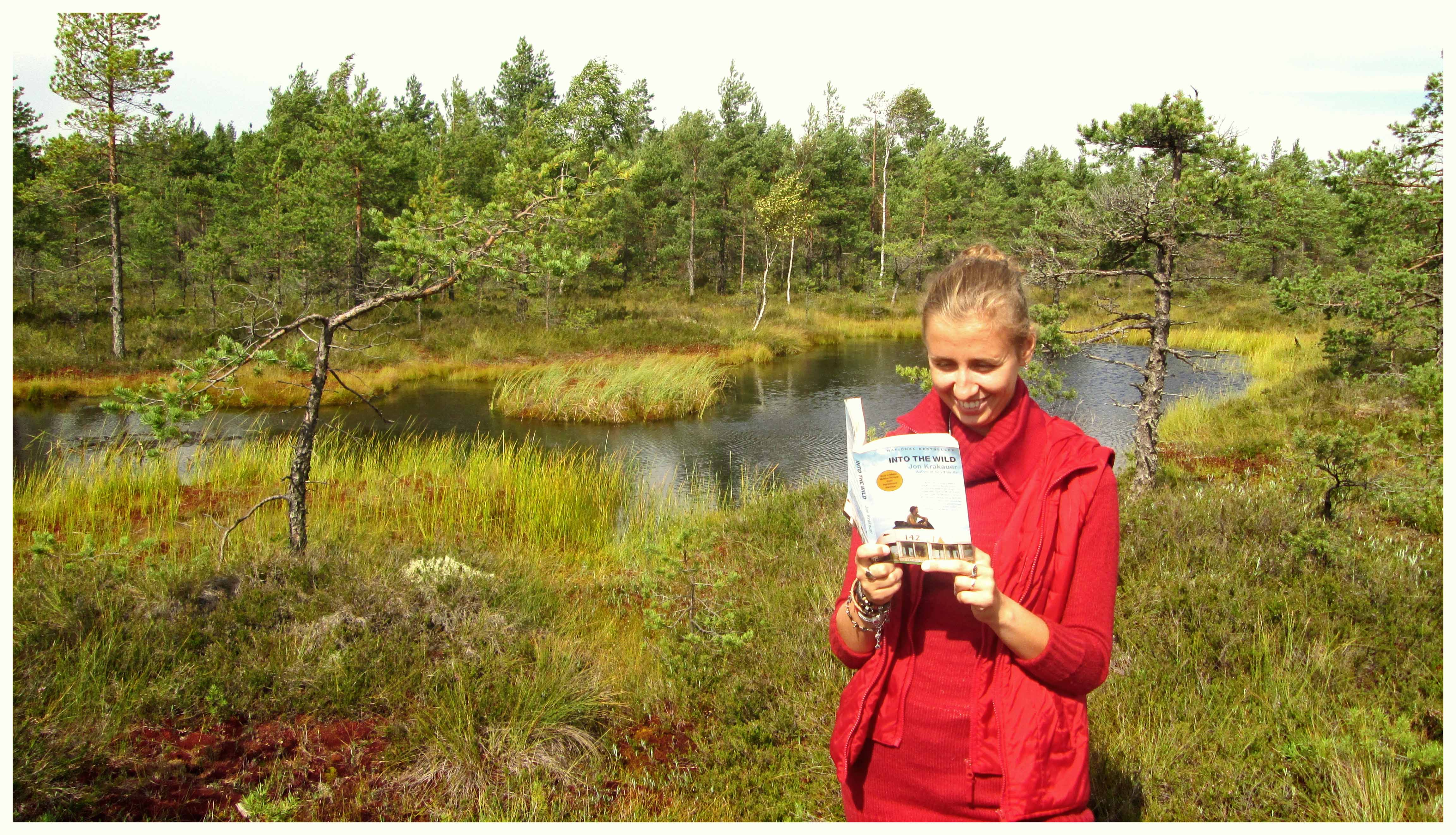 """Rändajahingega juhatuse assistent Eeva, kes oma viimasel reisil loetud raamatust """"Into the Wild"""" teile täna kirjutab. Foto autor: ...."""