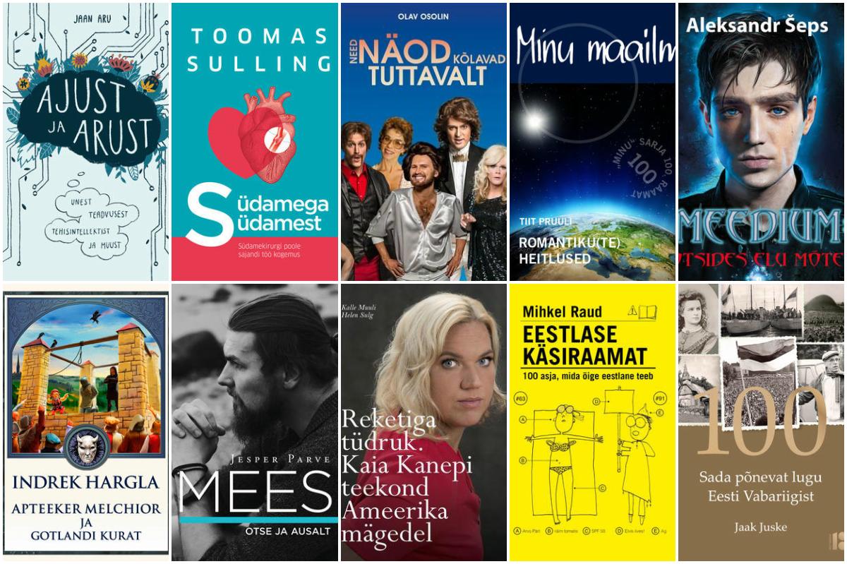 Rahva Raamatu 2017. aasta TOP 100 raamatut