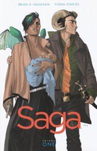 "Brian K. Vaughan, Fiona Staples ""Saga"""