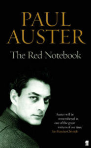 "Paul Auster ""The Red Notebook"""