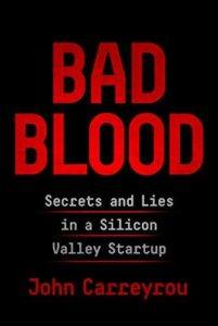 "John Carreyrou ""Bad Blood"""