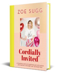 """Zoe Sugg """"Cordially Invited"""""""
