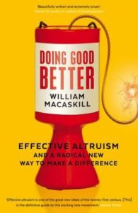 "William MacAskill ""Doing Good Better"""