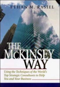 "Ethan M. Rasiel ""The McKinsey Way"""