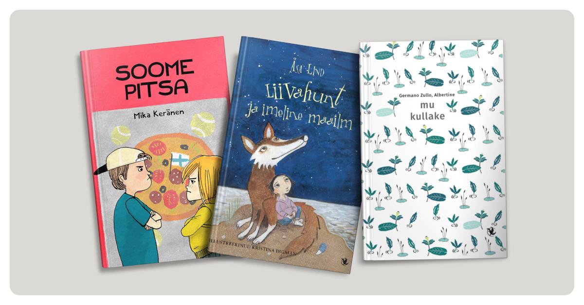 Rahva Raamatu kirjastaja René Tendermann soovitab laste- ja noorteraamatuid