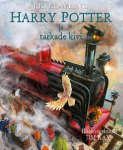 """J. K. Rowling """"Harry Potter ja tarkade kivi"""" illustreeritud väljaanne"""