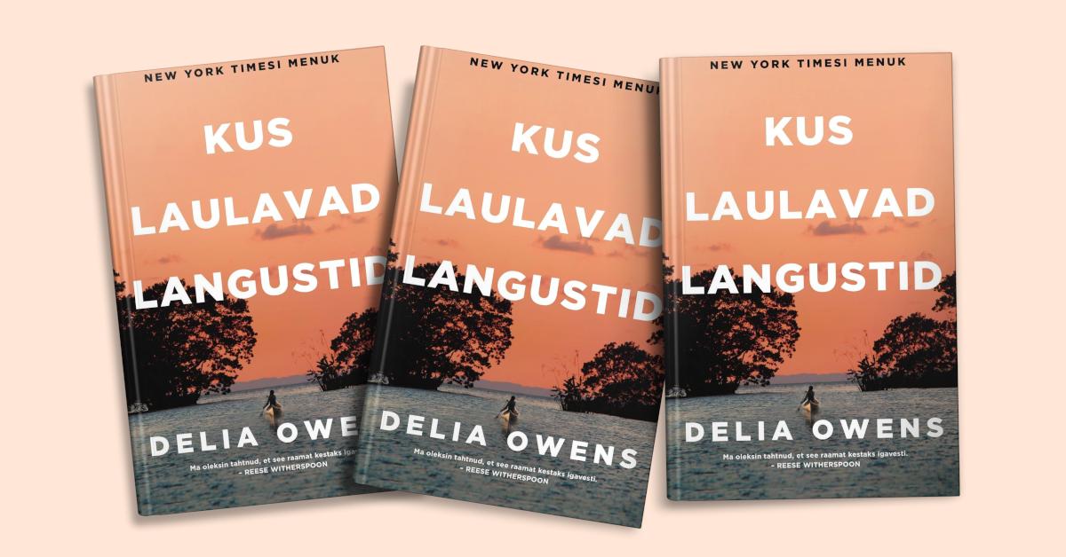 """Delia Owens """"Kus laulavad langustid"""""""