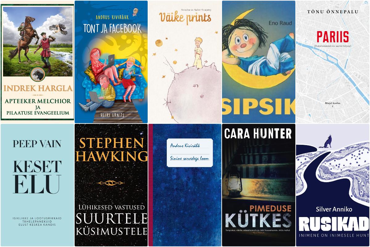 2019. aasta TOP 100 raamatut