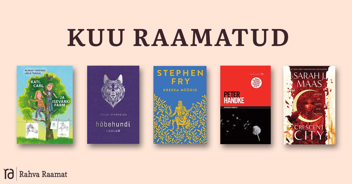 Raamatud, mida lugeda märtsis