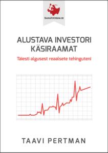 """Taavi Pertman """"Alustava investori käsiraamat"""""""
