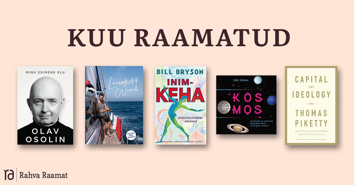 Raamatud, mida lugeda aprillis