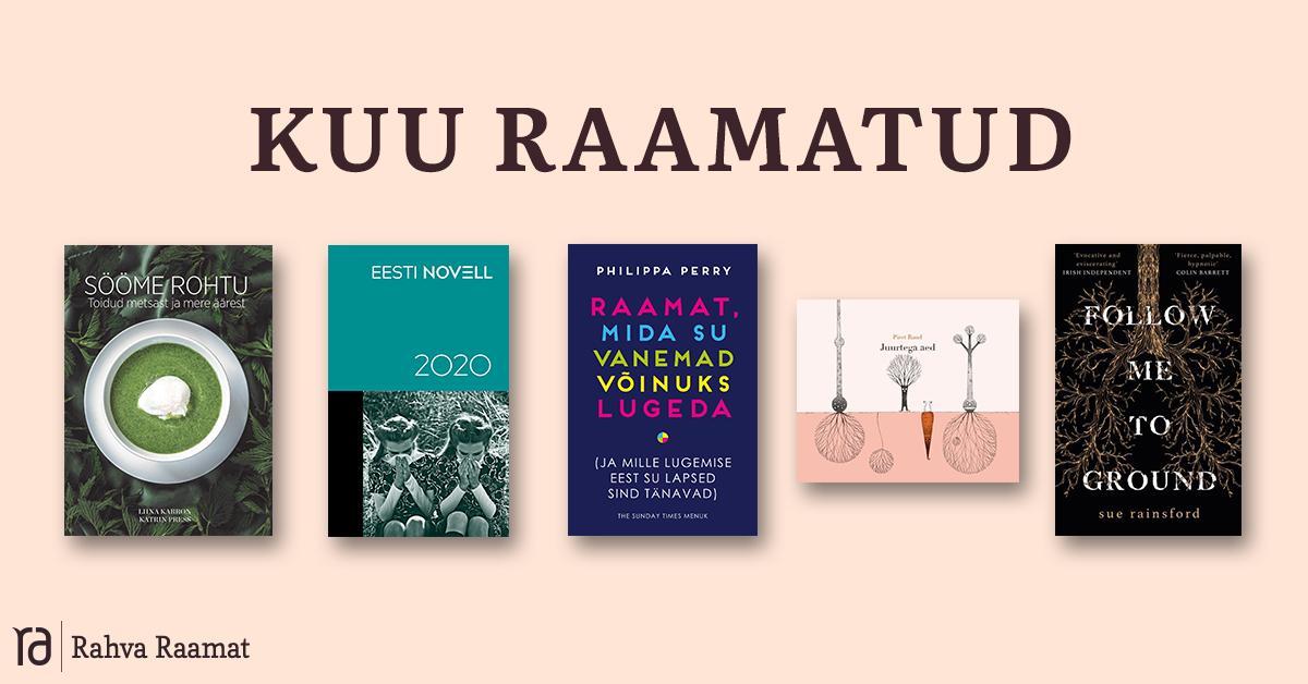 Raamatud, mida lugeda maikuus