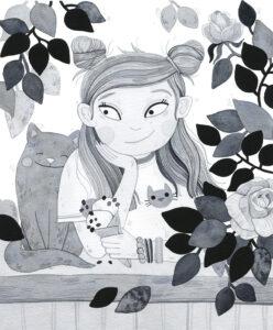 """Jana Maasik """"Õnnekaare õed ja vimkavennad"""",illustraator Sirly Oder"""